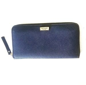 Kate Spade Navy Blue Wallet